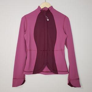 Lululemon Athletica Size 6 Plum Yoga Jacket